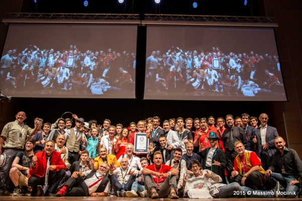 Guinness World Record, Fism Italy. Successo mondiale. PalaCongressi Rimini.