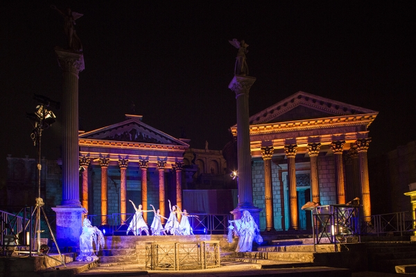 "To celebrate the anniversary of the 150 years of the founding of DNV GL, viewers have experienced the thrill of a ""magic"" journey through time in the splendid setting of the Cinecittà studios."