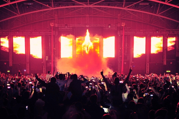 Prestige live showet, der er danset, Regisseret af Alessandro Marrazzo