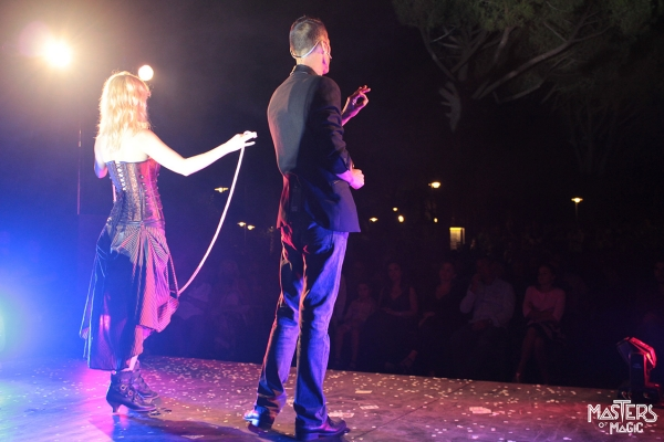 Great magic show with extraordinary artists in mid-August at the Riva del Sole resort & spa
