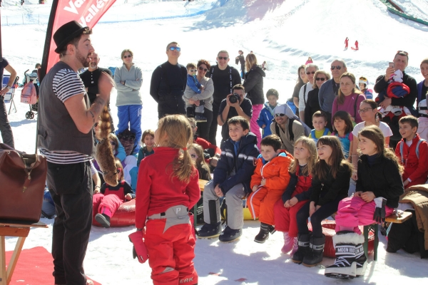 International festival of magic the event that warms the heart of its large audience in all the ski resorts of Italy.