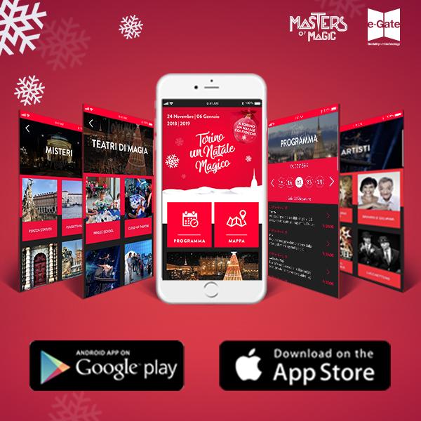turin a magical Christmas app